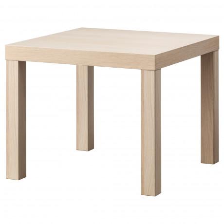Придиванный столик ЛАКК под беленый дуб фото 5